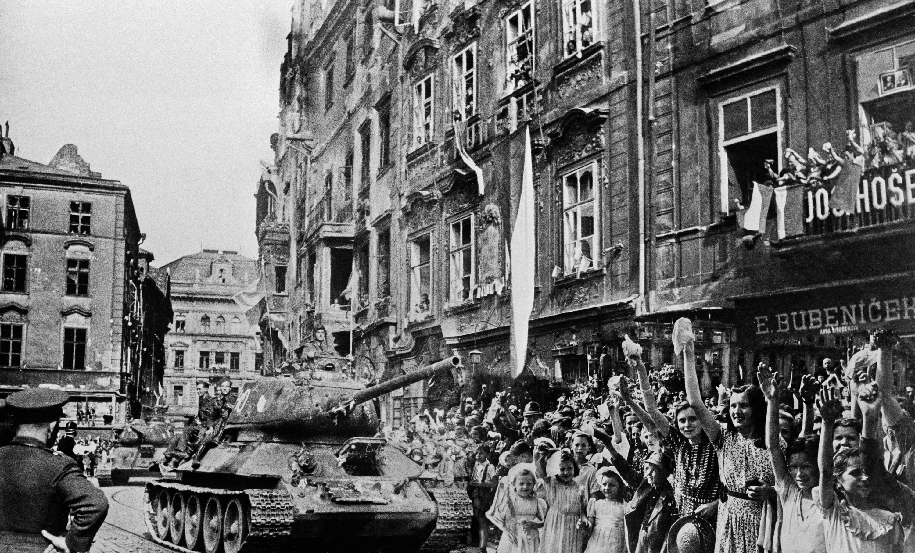 Liberation of Europe, 1945