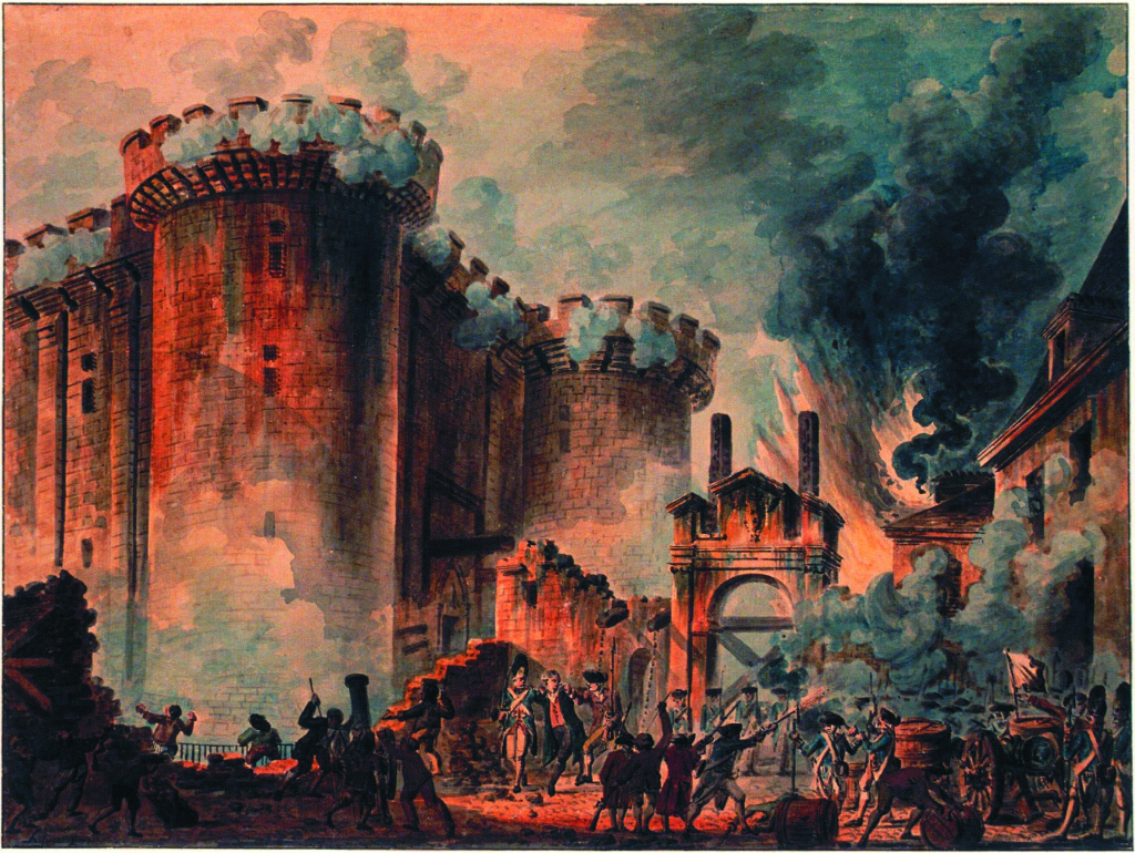 Prise de la Bastille (The Storming of Bastille), 1789Jean-Pierre-Louis