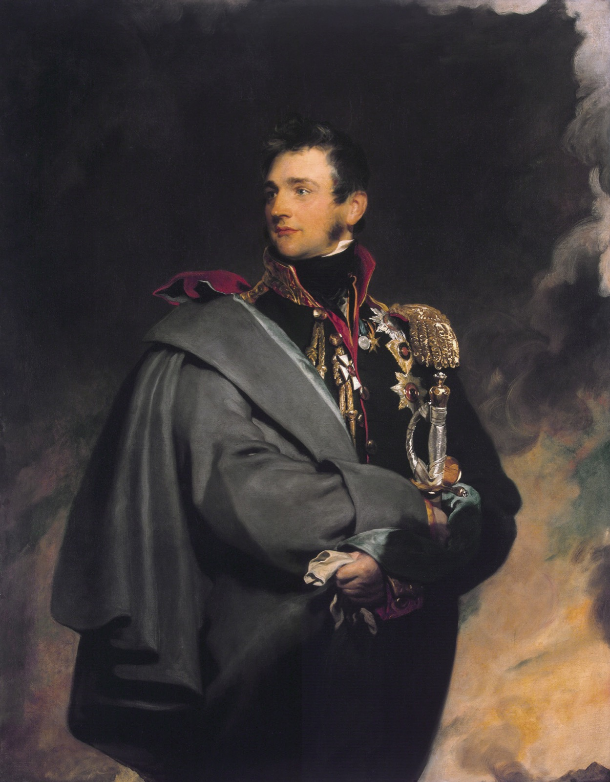 Count Mikhail S. Vorontsov, by Thomas Lawrence