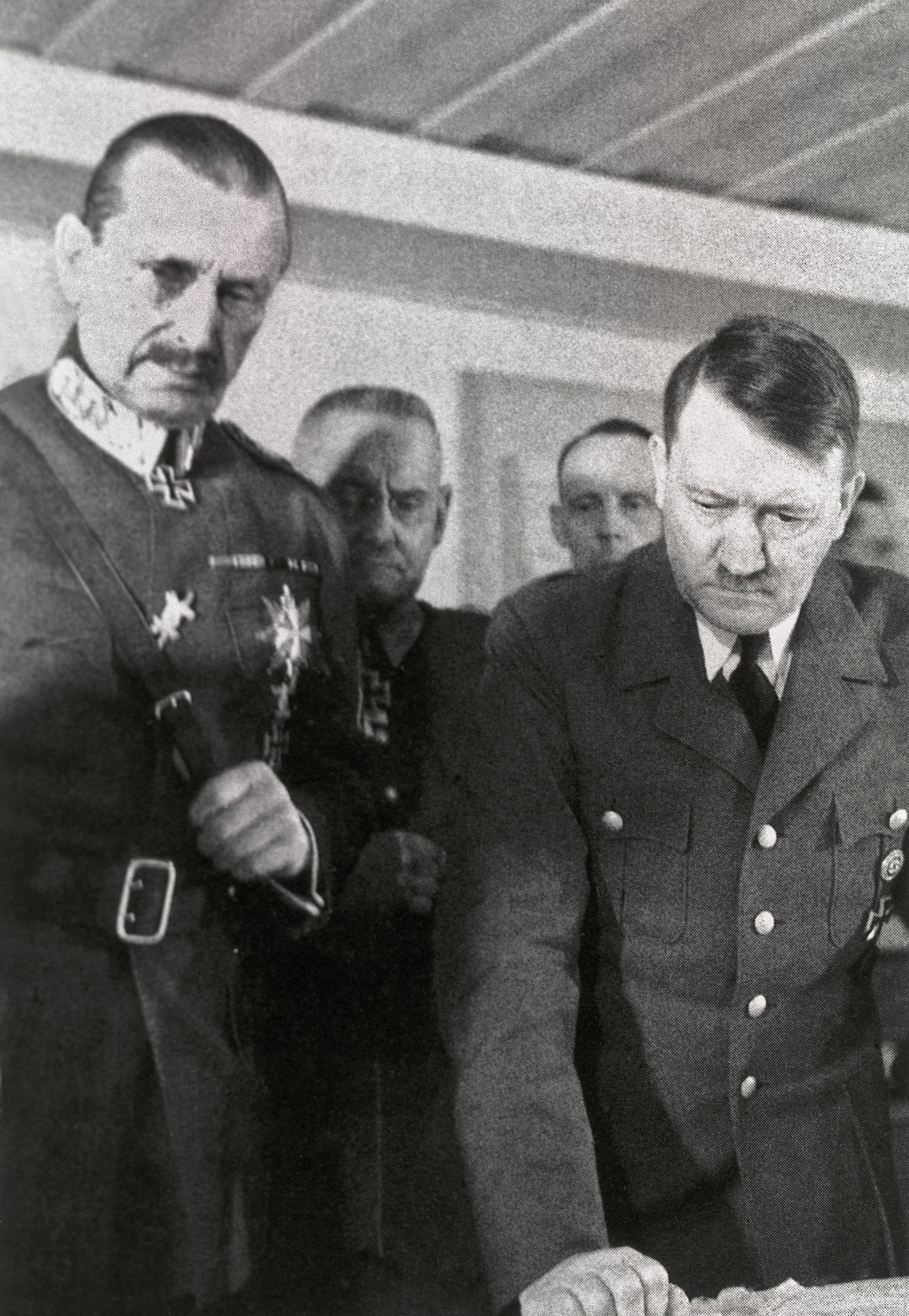 Carl Gustav Von Mannerheim and Adolf Hitler, 1942