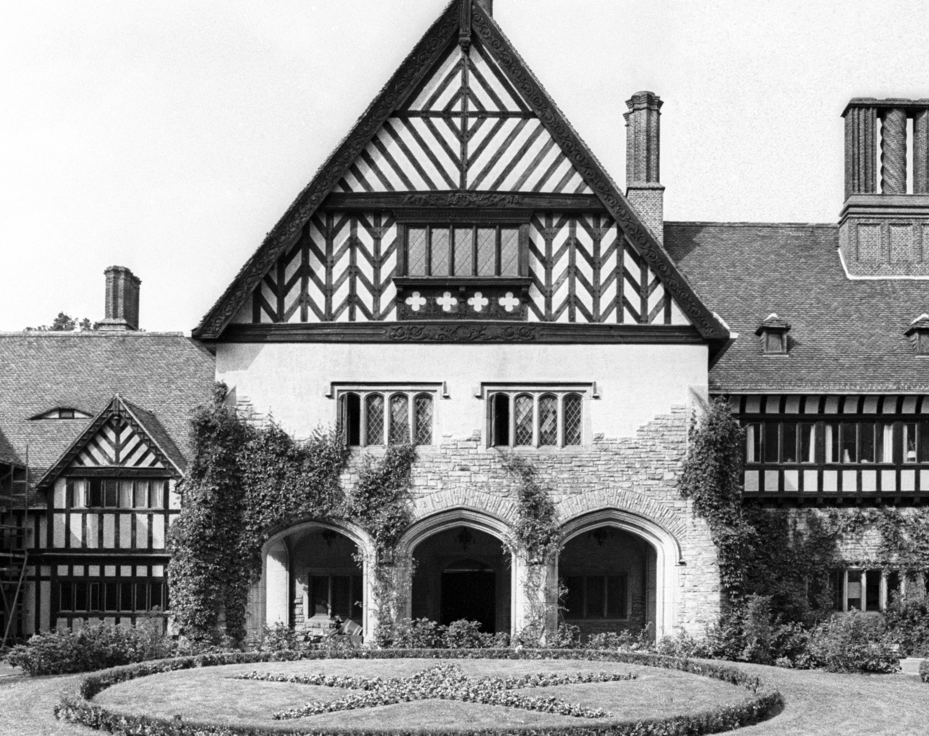 Cecilienhof Palace in Potsdam, 1970