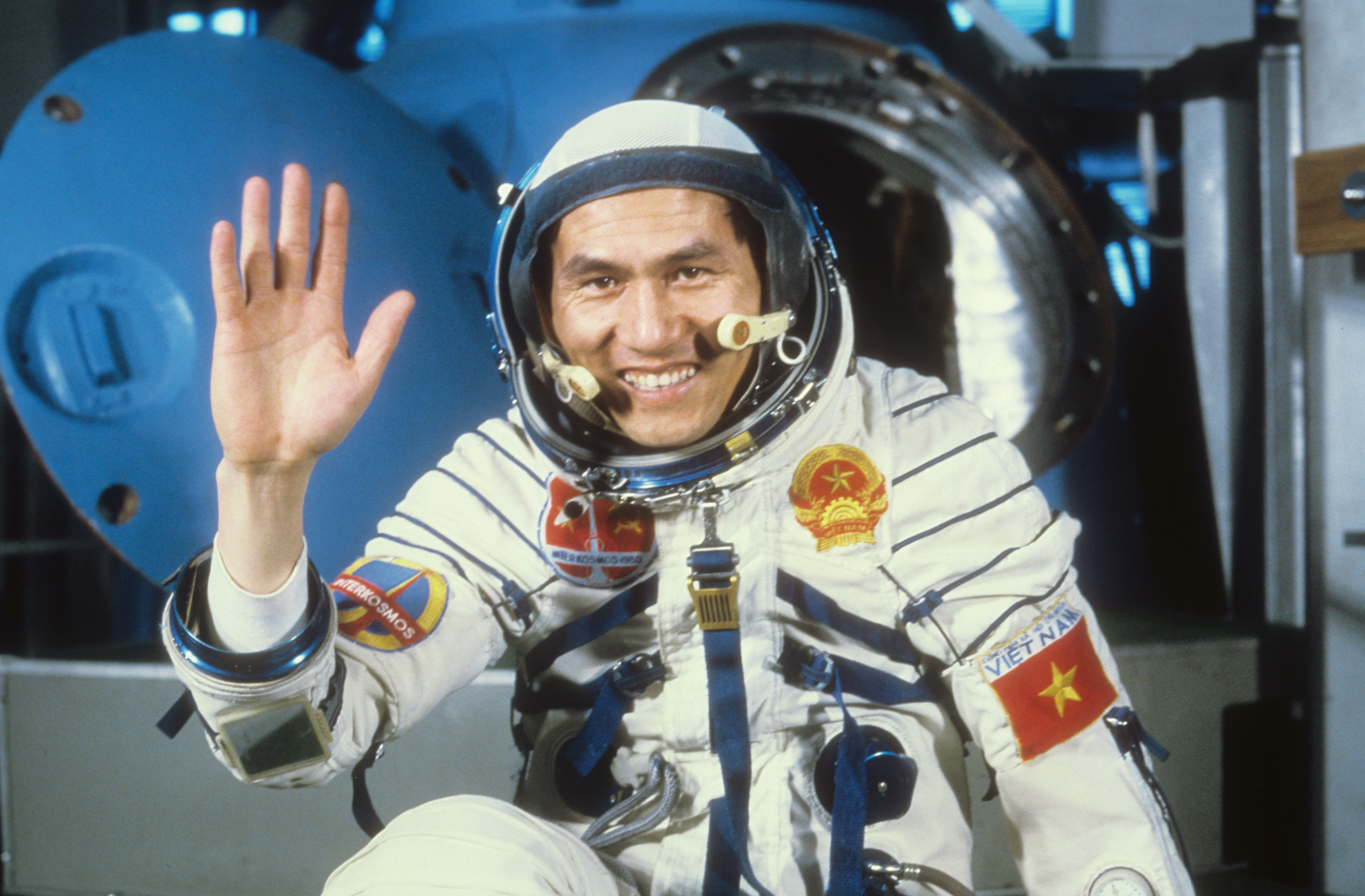 Research Cosmonaut Pham Tuan, 1980