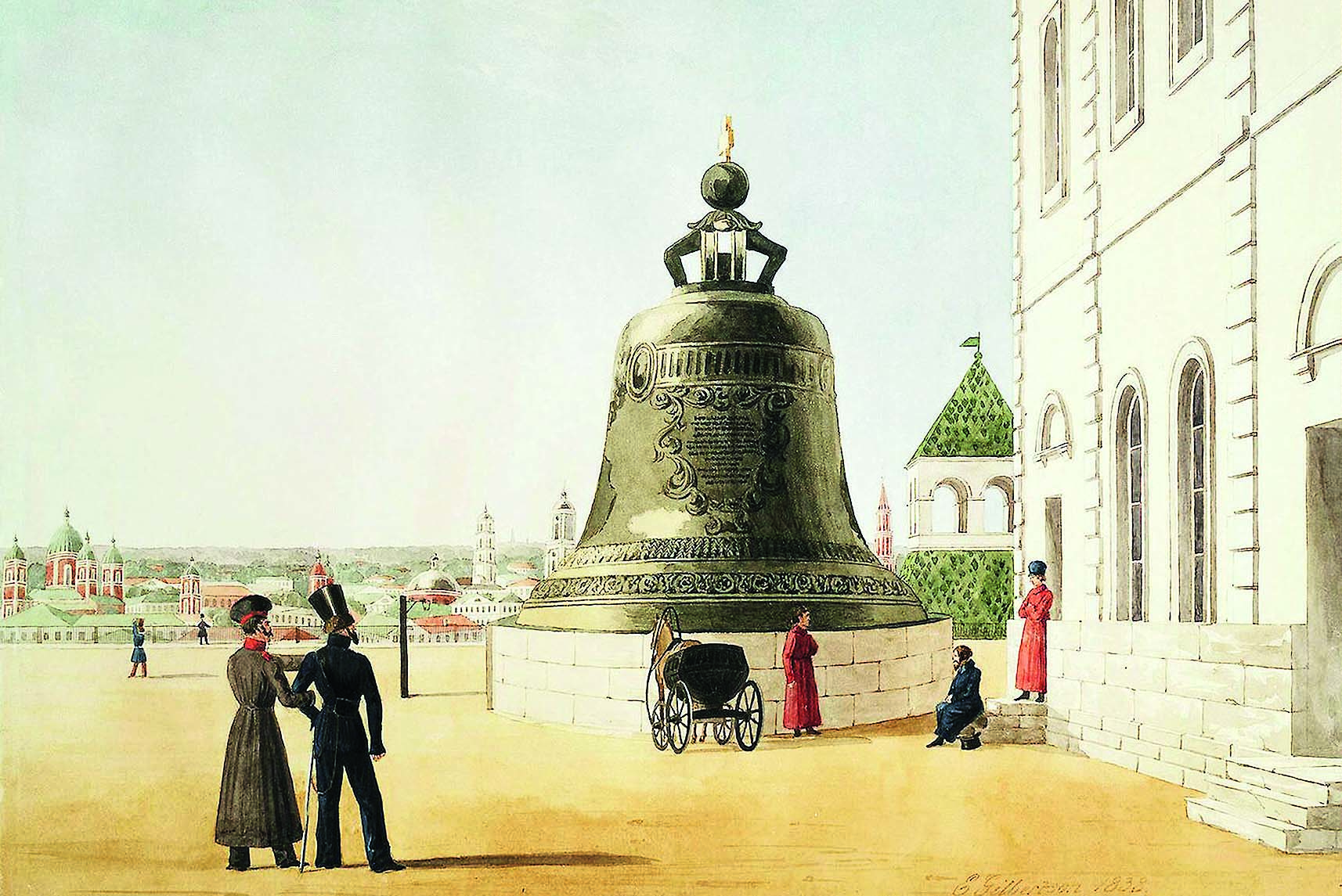 Gilbertson E. - Tsar Bell in the Moscow Kremlin