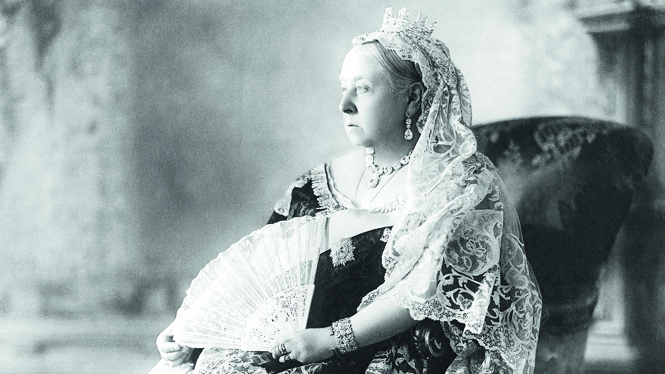 Queen Victoria Aged 78