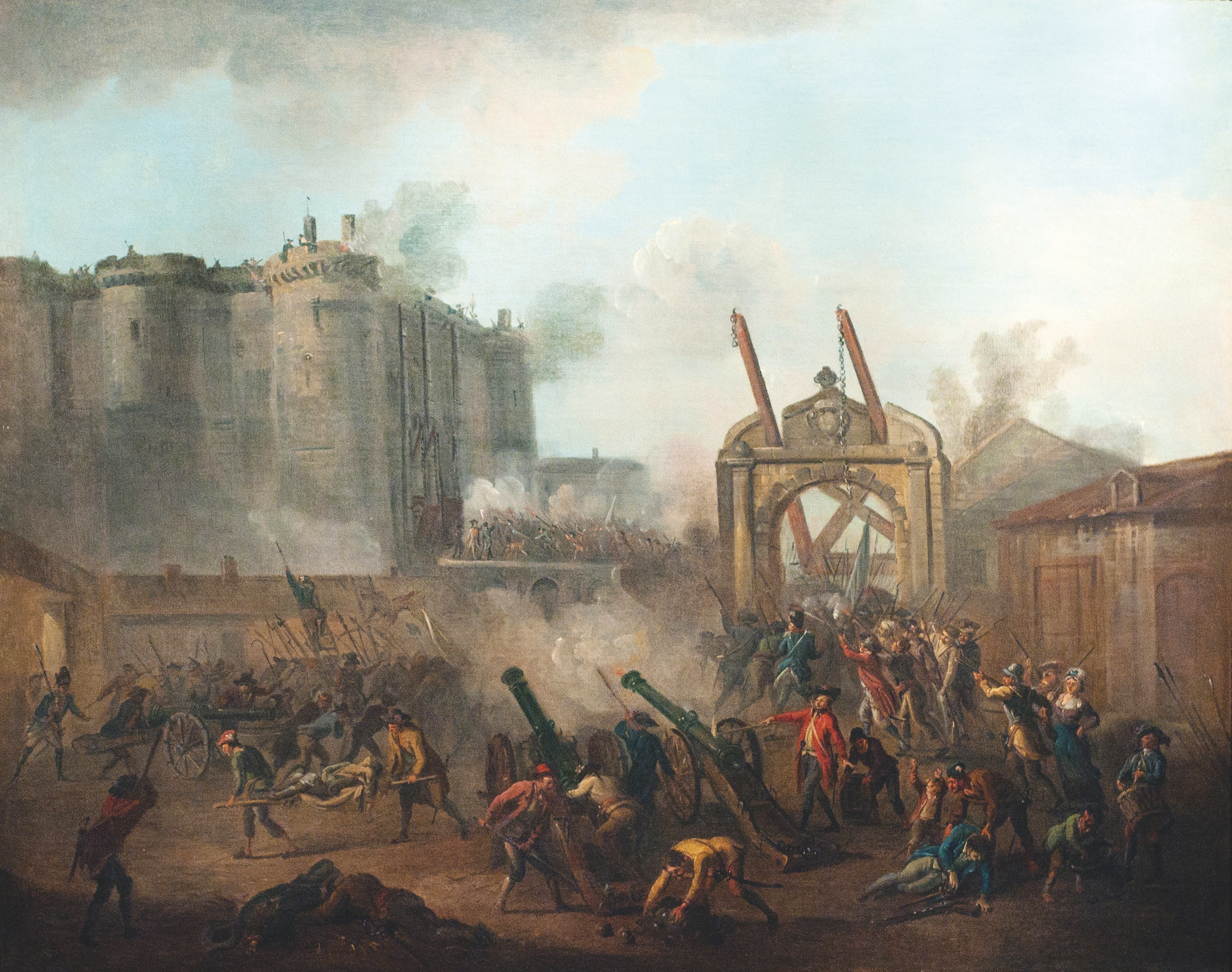 painterly pleasant french revolution - HD1600×1076